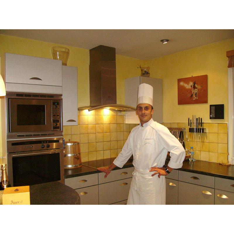 Interview d'Arthur Lefranc, chef à domicile à Clermont-Ferrand